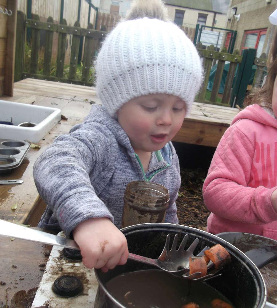 Giant Steps Nursery Childcare Easington Children