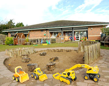 Giant Steps Nursery Childcare Haswell